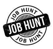 Tampon en caoutchouc de Job Hunt Photo stock