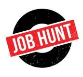 Tampon en caoutchouc de Job Hunt Photo libre de droits