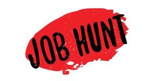 Tampon en caoutchouc de Job Hunt Images libres de droits