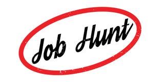 Tampon en caoutchouc de Job Hunt Photographie stock