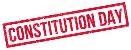 Tampon en caoutchouc de jour de constitution Photo libre de droits