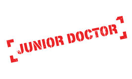 Tampon en caoutchouc de Junior Doctor illustration stock
