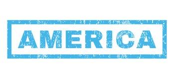 Tampon en caoutchouc de l'Amérique Image libre de droits