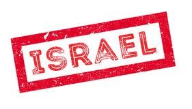 Tampon en caoutchouc de l'Israël Image libre de droits