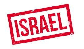 Tampon en caoutchouc de l'Israël Photo stock
