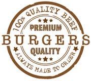 Tampon en caoutchouc de la meilleure qualité rond d'hamburgers de qualité Photos stock