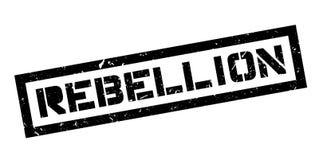 Tampon en caoutchouc de rébellion Photos libres de droits