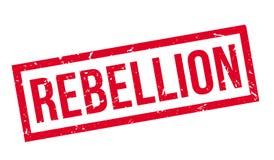 Tampon en caoutchouc de rébellion Photographie stock libre de droits