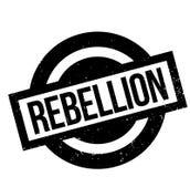 Tampon en caoutchouc de rébellion illustration libre de droits