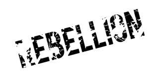 Tampon en caoutchouc de rébellion illustration stock