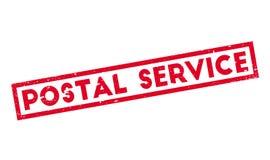 Tampon en caoutchouc de service postal illustration stock