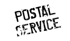 Tampon en caoutchouc de service postal illustration de vecteur