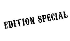 Tampon en caoutchouc de Special d'édition Image libre de droits