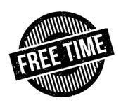 Tampon en caoutchouc de temps gratuit Photos libres de droits