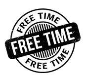 Tampon en caoutchouc de temps gratuit Photo libre de droits