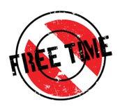 Tampon en caoutchouc de temps gratuit Images stock