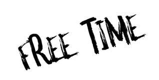 Tampon en caoutchouc de temps gratuit Photographie stock libre de droits