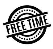 Tampon en caoutchouc de temps gratuit Image stock