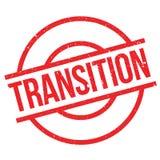 Tampon en caoutchouc de transition Image stock