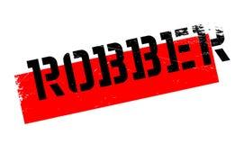 Tampon en caoutchouc de voleur Photos libres de droits