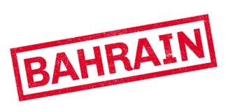 Tampon en caoutchouc du Bahrain Image stock