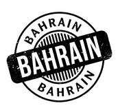 Tampon en caoutchouc du Bahrain Photographie stock libre de droits