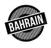 Tampon en caoutchouc du Bahrain Photographie stock