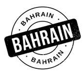Tampon en caoutchouc du Bahrain Image libre de droits
