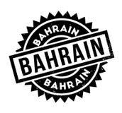 Tampon en caoutchouc du Bahrain Images libres de droits