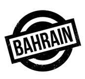 Tampon en caoutchouc du Bahrain Photo libre de droits