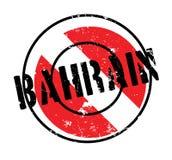 Tampon en caoutchouc du Bahrain Images stock
