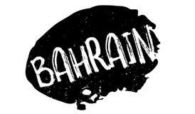 Tampon en caoutchouc du Bahrain Photos stock