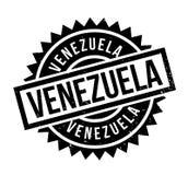 Tampon en caoutchouc du Venezuela Photos libres de droits