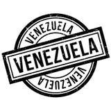 Tampon en caoutchouc du Venezuela Image libre de droits