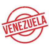 Tampon en caoutchouc du Venezuela Photographie stock