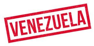 Tampon en caoutchouc du Venezuela Photo stock