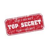 Tampon en caoutchouc extrêmement secret Photo libre de droits