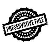 Tampon en caoutchouc gratuit d'agent de conservation Image libre de droits