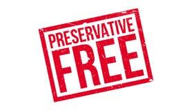 Tampon en caoutchouc gratuit d'agent de conservation Images libres de droits