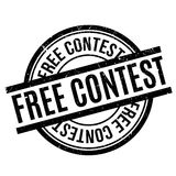 Tampon en caoutchouc gratuit de concours Photo libre de droits