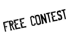 Tampon en caoutchouc gratuit de concours Image libre de droits
