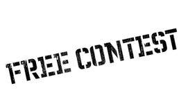 Tampon en caoutchouc gratuit de concours Images libres de droits