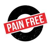 Tampon en caoutchouc gratuit de douleur Image stock