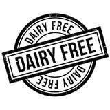 Tampon en caoutchouc gratuit de laiterie illustration libre de droits