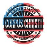 Tampon en caoutchouc grunge avec le texte United States of America, Corp Illustration Stock