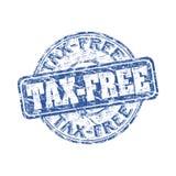 Tampon en caoutchouc grunge exempt d'impôt
