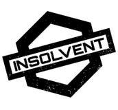 Tampon en caoutchouc insolvable Images libres de droits