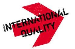 Tampon en caoutchouc international de qualité Images libres de droits