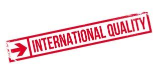 Tampon en caoutchouc international de qualité Image libre de droits
