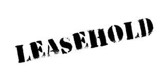 Tampon en caoutchouc loué à bail Photographie stock libre de droits